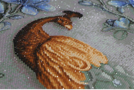 DIY Full Diamond Embroidery Peacock - Happy Trends Outlet