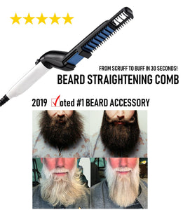 Electric Beard Straightening Comb - Happy Trends Outlet