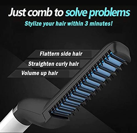 Image of Electric Beard Straightening Comb - Happy Trends Outlet