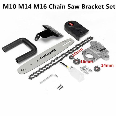 Image of Electric Chainsaw Bracket Set For Angle Grinder - Happy Trends Outlet