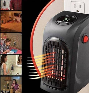 Electric Wall Heater Mini Portable Plug-in Personal Heater - Happy Trends Outlet