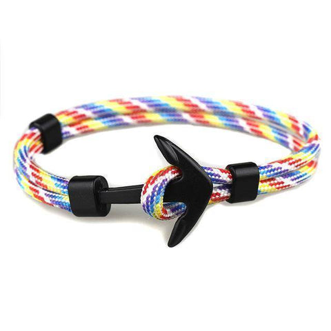 Image of Fashion Color Anchor Bracelets - Happy Trends Outlet