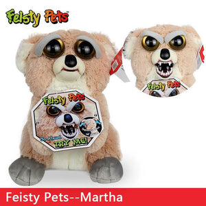 Feisty Funny Expression Pets Plush Toy - Happy Trends Outlet