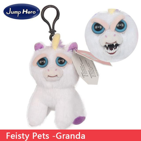 Image of Feisty Funny Expression Pets Plush Toy - Happy Trends Outlet