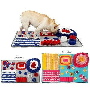 Interactive Pet Snuffle Mat and Feeding Trainer - Happy Trends Outlet
