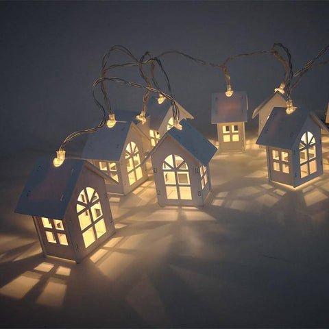 Image of LED Christmas Village Decorations - Happy Trends Outlet