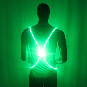 Light Up LED Reflective Vest - Happy Trends Outlet