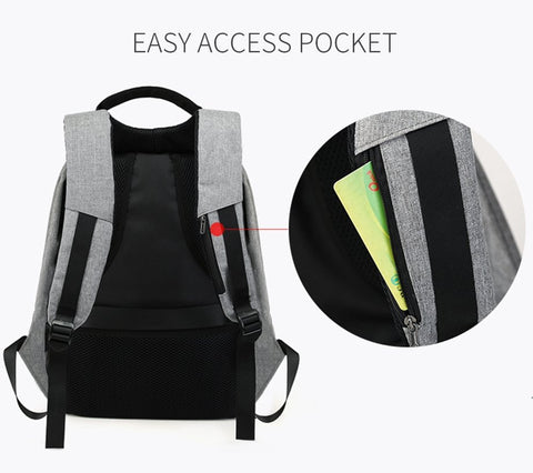 Image of Original USB Charging Anti-Theft Backpack - Happy Trends Outlet