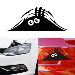 Peeking Monster Car Sticker - Happy Trends Outlet