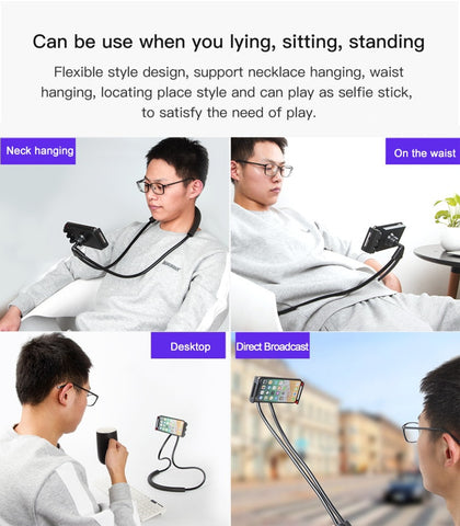 Image of Lazy Neck Phone Holder
