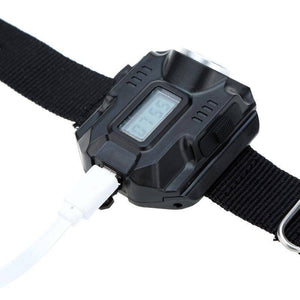 Rechargeable Waterproof LED Tactical Display Wrist Watch - Happy Trends Outlet
