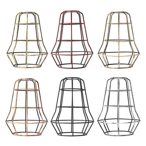 Image of Retro Industrial Bulb Light Cover Guard Cage - Happy Trends Outlet