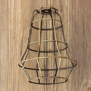 Retro Industrial Bulb Light Cover Guard Cage - Happy Trends Outlet