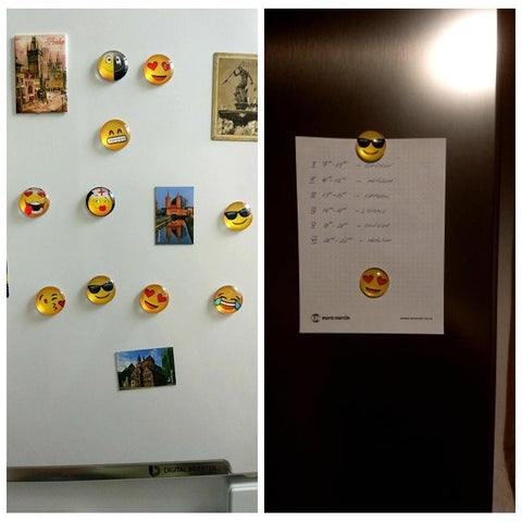 Image of Smiley Emoji Fridge Magnet - Happy Trends Outlet