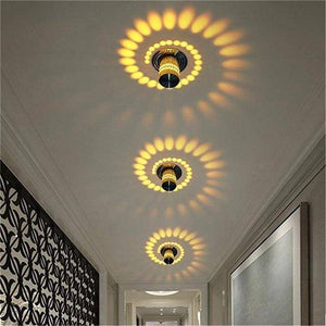 Spiral LED Wall Decorative Light - Happy Trends Outlet