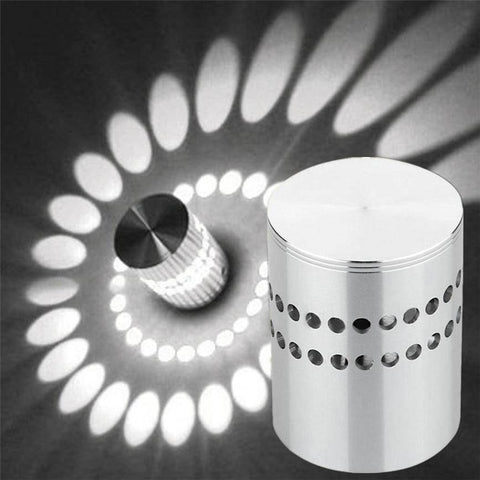 Image of Spiral LED Wall Decorative Light - Happy Trends Outlet