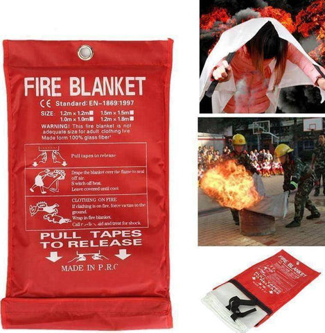 Image of Survival Fire Emergency Blanket - Happy Trends Outlet