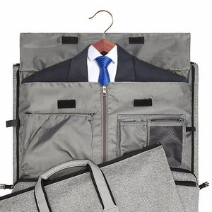 Travel Garment Bag with Shoulder Strap Duffel Bag Carry on - Happy Trends Outlet