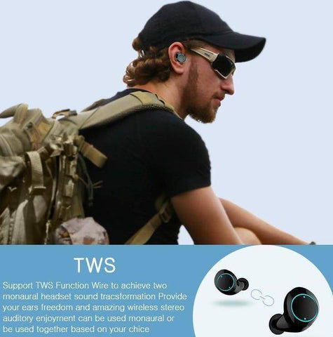Image of True Wireless Bluetooth Earbuds - Happy Trends Outlet