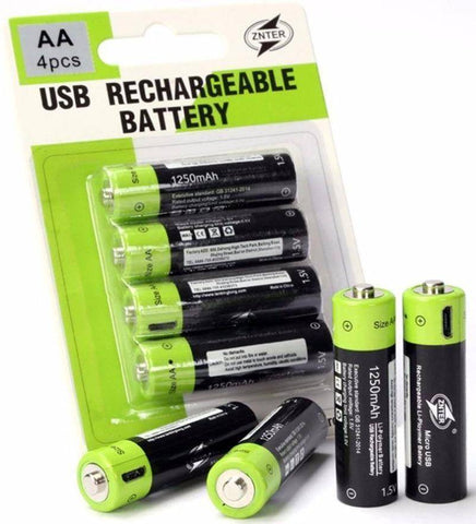Image of USB Batteries - Happy Trends Outlet