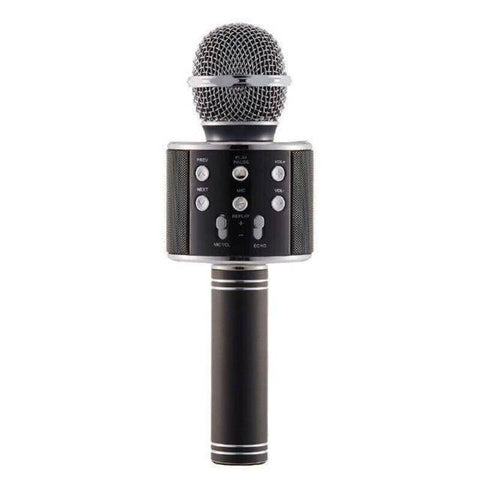 Image of Wireless Bluetooth Karaoke Handheld Microphone - Happy Trends Outlet