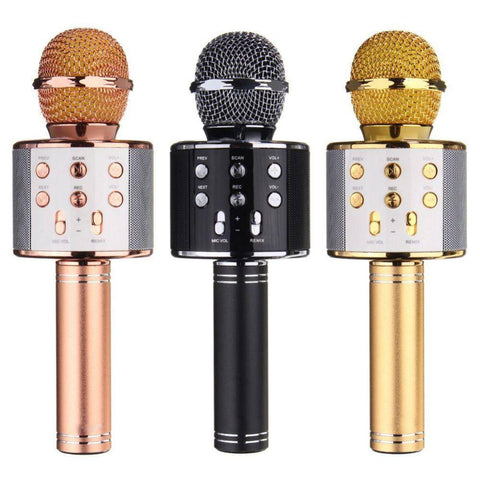 Wireless Bluetooth Karaoke Handheld Microphone - Happy Trends Outlet