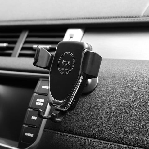 Image of Wireless Car Charger Qi-Certified - Happy Trends Outlet
