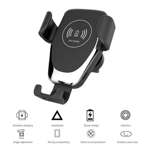 Wireless Car Charger Qi-Certified - Happy Trends Outlet
