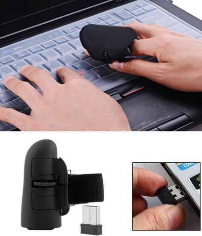 Image of Wireless Finger Ring Optical Mouse - Happy Trends Outlet
