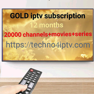 GOLD iptv subscription 12 months