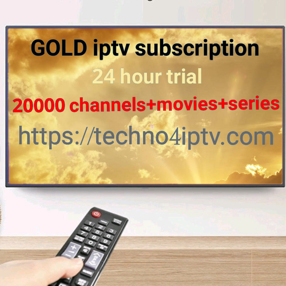 GOLD IPTV 24 hour trial