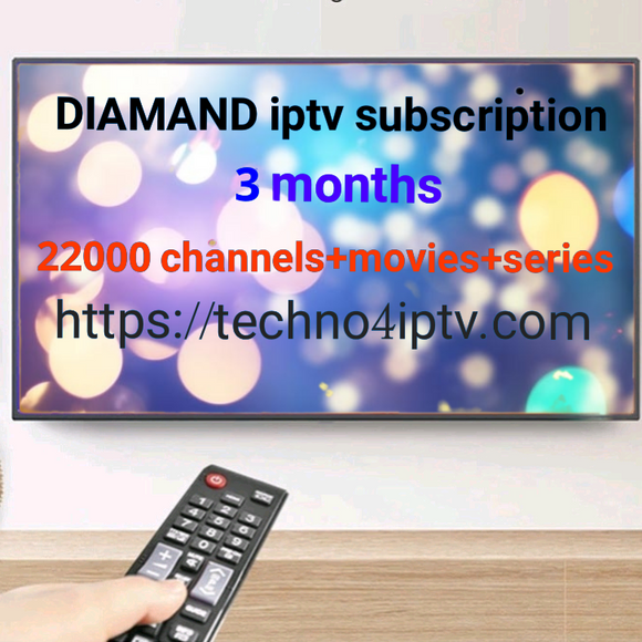 3 Months Diamond Iptv Subscription - Iptv Subscription For Smart Tv