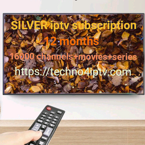 silver iptv subscription 12months
