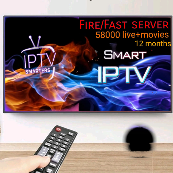 Fire/fast Smart Iptv Subscription For 12months Online