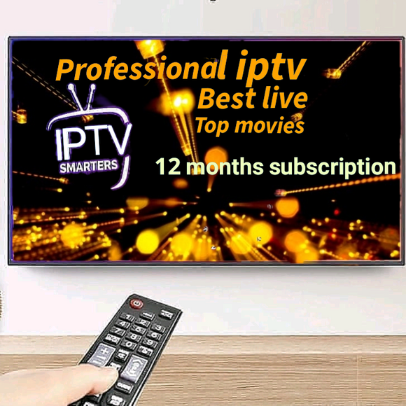 professional iptv subscription 12 months