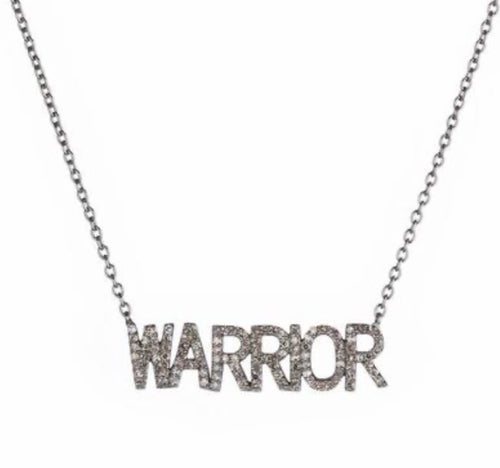 Warrior Diamond Necklace