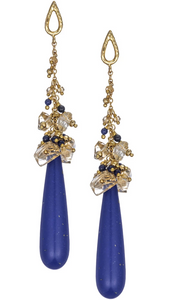 Luscious Lapis Drop Earrings