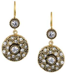 Classic Starburst Crystal Earrings