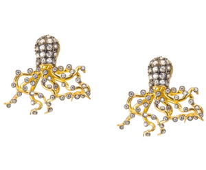 Under the Sea Octopus Studs