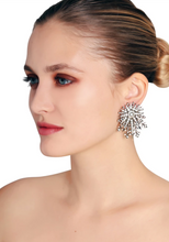 Load image into Gallery viewer, Vintage Celestial Starburst Stud Earrings