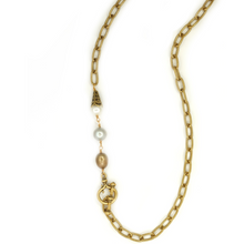 Load image into Gallery viewer, Classic Long Etched Necklace