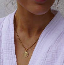 Load image into Gallery viewer, French Coin Necklace