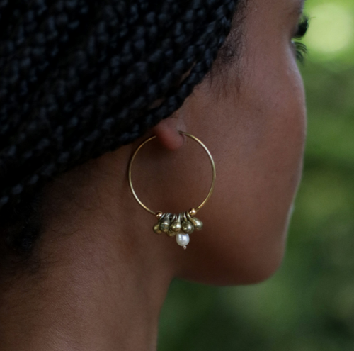Mimi Pearl Earrings