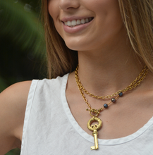 Load image into Gallery viewer, Paris Key Necklace