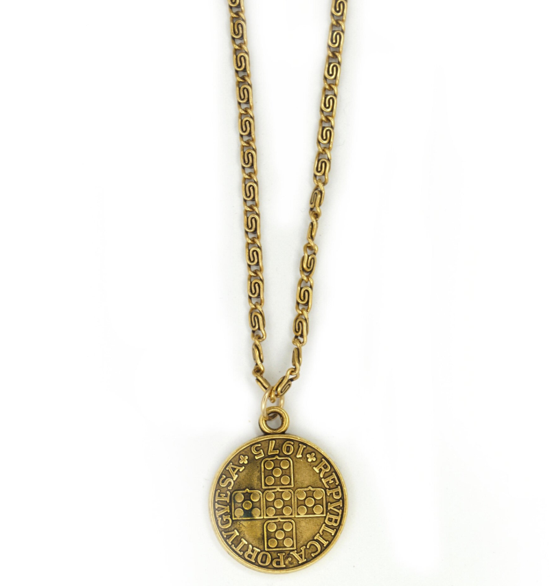 Portuguese Coin Necklace
