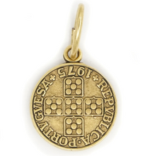 Load image into Gallery viewer, Portuguese Coin Pendant