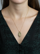 Load image into Gallery viewer, Laxmi Shield Necklace