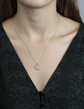 "Load image into Gallery viewer, Sun Lotus Necklace ""Be Resilient"""