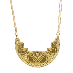 "Chandra Necklace ""Radiate Light"""