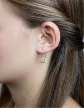 "Load image into Gallery viewer, Chant Earrings ""Find Tranquility"""